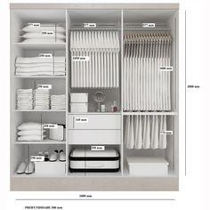 64 ideas for bedroom closet wardrobe cabinets Wardrobe Design Bedroom, Wardrobe Cabinets, Master Bedroom Closet, Bedroom Furniture Design, Bedroom Wardrobe, Wardrobe Closet, Furniture Layout, White Furniture, Bedroom Cupboard Designs