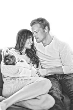 Better together… :) Outlander Casting, Outlander Book, Sam Heughan Family, Heartland Tv Show, Sam And Cait, Jamie And Claire, Caitriona Balfe, Better Together, Movie Stars