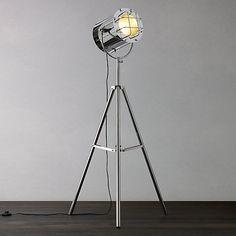 Buy John Lewis Studio Chrome Floor Light Online at johnlewis.com
