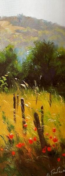 A Small Piece of Heaven in Sergei Tutunov's Paintings (Part I) Pastel Landscape, Watercolor Landscape, Landscape Art, Landscape Paintings, Watercolor Art, Paintings I Love, Beautiful Paintings, Pastel Paintings, Pinturas Em Tom Pastel