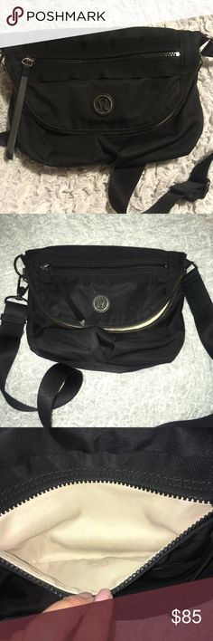 🍋 Lululemon Festival Bag Gently pre-owned but in great condition. Has very minor marks inside and fading on hardware. See pictures. Super cute and it's great for an everyday bag lululemon athletica Bags Crossbody Bags