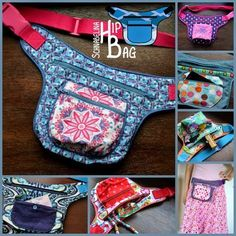 Schnabelinas Welt: Freebook SchnabelinaHipBag online and Purses and Bags Sewing Lessons, Sewing Class, Sewing Basics, Sewing Hacks, Sewing Tutorials, Sewing Tips, Sewing Patterns Free, Free Sewing, Free Pattern