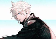 Final Fantasy VII Cloud Strife Final Fantasy Cloud, Final Fantasy Artwork, Final Fantasy Characters, Final Fantasy Vii Remake, Fantasy Series, Final Fantasy Xv Wallpapers, Cloud And Tifa, Cloud Strife, Final Fantasy Collection