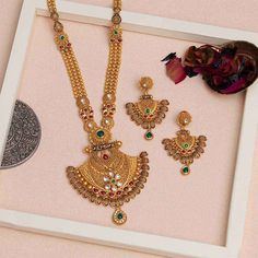 Made in Jadtar in grams) - Product Code: New Gold Jewellery Designs, Bridal Jewellery Inspiration, Gold Mangalsutra Designs, Gold Bangles Design, Jewelry Design, Bridal Jewelry, Gold Jewelry Simple, Stylish Jewelry, Gold Pendant
