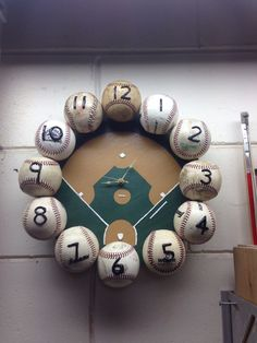 Could make this with just the baseballs