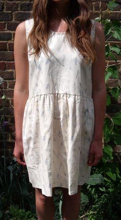 Vegetable Plot Printed Dress