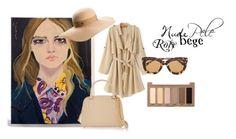 nude by polyanna-kb on Polyvore featuring Nina Ricci, Maison Michel, Bottega Veneta, Urban Decay and Burberry