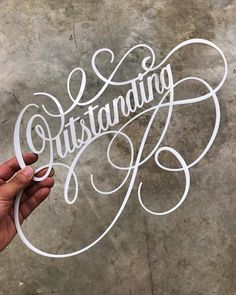 I want some of this laser cut lettering by @heypenman - #typegang - free fonts at typegang.com | typegang.com #typegang #typography