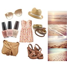 A walk along the coast, created by rubyyyred on Polyvore
