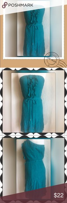 "NWOT Accidentally in Love Strapless Dress size XL Accidentally in Love Strapless Mini Dress size XL pit to pit 16"" Length 25"" back to hem Accidentally In Love Dresses Mini"