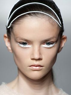 Summer trend: lower lash line. Unconditional SS2013.