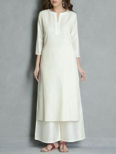 Modest Black And White Long Kurta Medium Size Relieving Rheumatism And Cold Men's Clothing