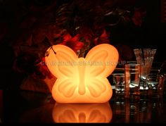 led decor lamps/LED butterfly lamp DB017
