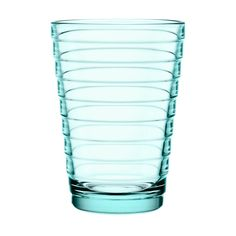 Iittala Aino Aalto tumbler 33 cl, water green, set of 2 ($16) ❤ liked on Polyvore featuring home, kitchen & dining, drinkware, water green, water tumbler, green glassware, green tumblers, colored glassware and iittala