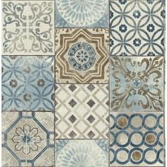 Moroccan Tile Peel-and-Stick Wallpaper in Neutrals and Greys by NextWa Kitchen Backsplash Ideas Greys Moroccan neutrals NextWa PeelandStick Tile Wallpaper Look Wallpaper, Tile Wallpaper, Peel And Stick Wallpaper, Adhesive Wallpaper, Moroccan Wallpaper, Wallpaper Backsplash Kitchen, Bohemian Wallpaper, Remove Wallpaper, Wallpaper Stores