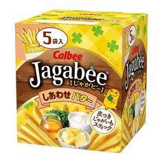 Calbee Jagabee Potato Sticks Butter Flavor 80g Japanese Snacks, Japanese Candy, Chocolate Bourbon, Chocolate Dipped, Potato Sticks, Mini Chips, Mascarpone Cheese, Crispy Potatoes, Stick Of Butter