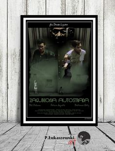LOST HIGHWAY - David Lynch - movie poster / print [ Patricia Arquette , Bill Pullman , Balthazar Getty ]