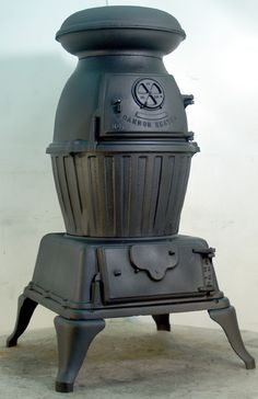 Pot Belly Stove - US Army Cannon Heater