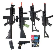 Airsoft Gun Bundle: AEG M4 CQB, D33, M1911, MOD5, M5, BBs and Magazine by AirSoft. $134.95. Airsoft Megastore's Signature Packages, created FOR PLAYERS BY PLAYERS, combine high-quality Airsoft guns with the necessary essentials that EVERY Airsoft player needs to get started playing the sport of Airsoft, and in the process deliver the best value on the market for Airsoft products. Check out our complete line of Signature Packages that take the Airsoft shopping experience to...