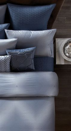 Shop bed and bath at Buyer Select. Our curated selection includes beautiful duvet covers, designer, and luxury bedding sets as well as sumptuous linens. Luxury Bedding Collections, Bedding Sets, Bed Pillows, Pillows, Luxury Bedding, Bedroom Decor, Soft Furnishings, Bedding Collections, Bedding And Bath