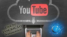 Neste Vídeo vamos aprender como criar um link de inscrição Automático do seu Canal do Youtube. Acesse: https://youtu.be/9LXi_UpmOU4