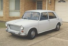 My first car was one of these with a snazzy red interior. Morris 1100 - great car!