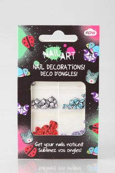 #UrbanOutfitters          #Women #Beauty            #content #nails #different #decorations #nail #designs #art #easy #pack       NPW Nail Art Decorations  Overview:* Create one-of-a-kind nails with NPW's Nail Art Decorations* Easy to apply and comes with four different designs in each pack Content & Care:* Imported                     http://pin.seapai.com/UrbanOutfitters/Women/Beauty/3790/buy