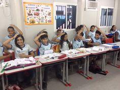 Blog do Inayá: Professora Priscila Gama trabalha Sistema Nervoso Central com alunos das Turmas 507 e 509