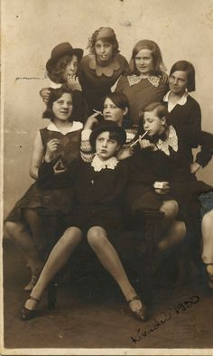teenage delinquents circa the 1930s- maybe I would have hung out with the wrong crowd, but maybe not!