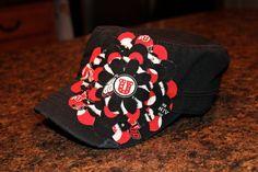 University of Utah Utes  Embellished military hat