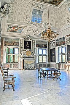 Audience Chamber, Frederiksborg Castle, Copenhagen, Denmark