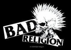 Bad Religion-- one of the most important punk bands of all time. New Wave Music, I Love Music, Sound Of Music, Music Is Life, Hard Rock, Woodstock, Anarcho Punk, Punk Poster, Band Logos