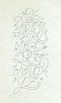 Another calligraphy Alphabet rought made with Bic Crystal Gel and digitalized - Grafik Design - Typography Hand Lettering Alphabet, Alphabet Design, Typography Letters, Simple Calligraphy Alphabet, Calligraphy Signs, Graffiti Alphabet, Islamic Calligraphy, Fond Design, Art Deco Font
