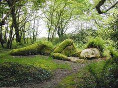 Sleeping Goddess  ~ Lost Gardens Heligan, England