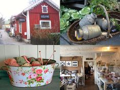 Old Scandinavian home decor