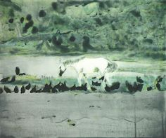 Peter Doig ~ Grand Riviere, 2002 (color spit bite and sugar lift aquatints)