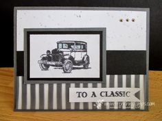 Stamp & Scrap with Frenchie: Masculine Monday with Guy Greeting