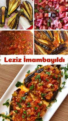 andfoods andfoods Nefis Yemek Tarifleri nefisyt Sebze Yemekleri One of the most popular eggplant iftar dish recipes of Turkish cuisine imambay ld Turkish Recipes, Ethnic Recipes, Iftar, Food Dishes, Eggplant, Food And Drink, Beef, Meals, Chicken