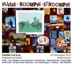 Launching at KAMERS Summer 2014 Stellenbosch, we are proud to present the first KAMERS met Kuns: Huisie Contemporary Landscape, Landscape Art, Sarah Pratt, Box Houses, Summer 2014, African, Artist, Painting, Artists