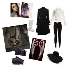 """""""Tokyo ghoul OC"""" by drawinxouo on Polyvore featuring art"""