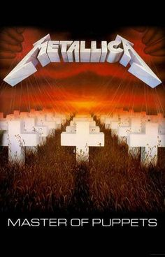 An awesome poster of the album cover from the classic Metallica LP Master of Puppets! Ships fast. 11x17 inches. Give your walls a good thrashing with the rest of our great selection of Metallica poste