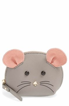 Main Image - kate spade new york 'cat's meow' mouse coin purse