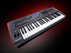 Novation Impulse 61 MIDI keyboard controller with Automap plug-in control