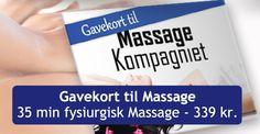 Massage Gavekort - Bestil gavekort til Massage Online Nu