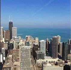 A lovely view from the Edelman Chicago office on this gorgeous spring day. Via @AnnieLZ