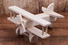 Wooden Airplane toy wooden toy Kids toys wooden toy airplane toy Children Boys Airplane with weels Decorative toy Birthday present Wooden Crafts, Wooden Diy, Handmade Wooden, Diy Wood, Wooden Airplane, Airplane Toys, Woodworking For Kids, Woodworking Toys, Wood Toys Plans