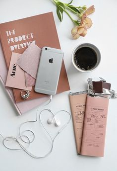 Flatlay Inspiration · via Custom Scene · Workspace Scene with neutral colors Flat Lay Photography, Coffee Photography, Lifestyle Photography, Blog Instagram, Flatlay Styling, Coffee Art, Coffee Time, Aesthetic Photo, Girly Things