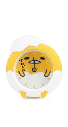This supercute and quirky clock is just want you need if you don't like carrying a wristwatch! It's small size is perfect as a pocket-watch and light weight to carry around all day.