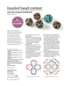 Beaded Bead Contest - Bead 3 - Beading Beads - 1/3