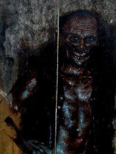"""SCP-106 is to be contained in a sealed container, comprised of lead-lined steel. SCP-106 appears to be an elderly humanoid, with a general appearance of advanced decomposition. This appearance may vary, but the """"rotting"""" quality is observed in all forms. SCP-106 is not exceptionally agile, and will remain motionless for days at a time, waiting for prey. SCP-106 is also capable of scaling any vertical surface and can remain suspended upside down indefinitely."""